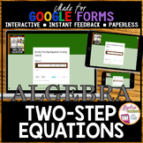 Solving Two Step Equations Halloween Algebra (Made for Goo