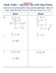 Solving Two-Step Equations ~ Introduction Notes + Worksheets
