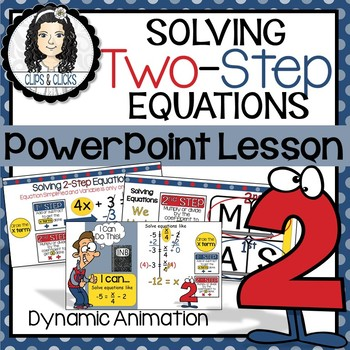 Solving Two-Step Equations PowerPoint Lesson