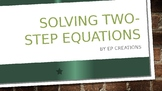 Solving Two-Step Equations Presentation