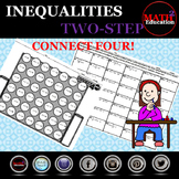 Solving Two Step Inequalities Connect 4