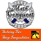 Solving Two Step Inequalities - Conquest Game