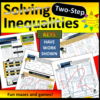 Solving Two-Step Inequalities with Negative Coefficients