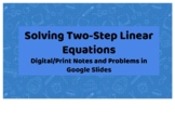 Solving Two-Step Linear Equations