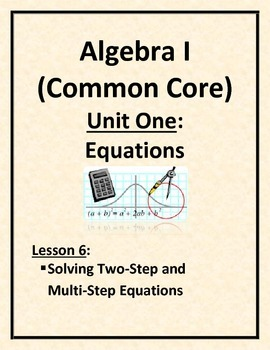 Solving Two-Step and Multi-Step Equations