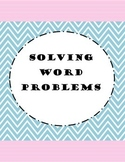 Third Grade Word Problems