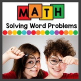 Solving Word Problems Addition and Subtraction