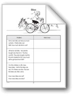 Solving Word Problems: Bikes