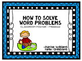Solving Word Problems Classroom Posters