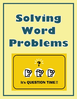 how to solve word problem