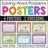 Solving Word Problems Posters