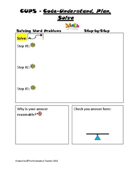 Solving Word Problems Step-by- Step