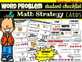 Solving Word Problems: Student Checklist & Solving Strategies