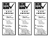 Solving Word Problems UPS Check Bookmark