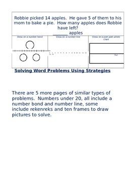 Solving Word Problems Using Multiple Strategies