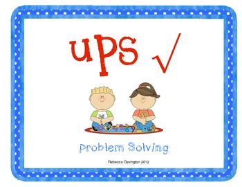 Solving Word Problems with UPS Check