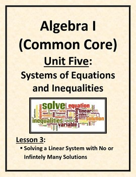 Solving a Linear System with No or Infinitely Many Solutions
