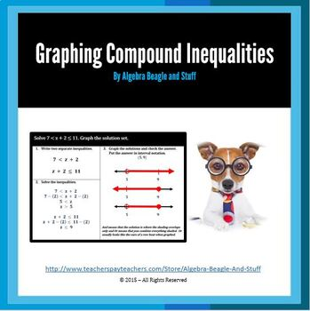 Solving and Graphing Compound Inequalities Scaffold Notes