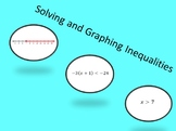 Solving and Graphing Inequalities Matching Activity