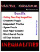 Solving and Graphing Inequalities SUPER BUNDLE!!