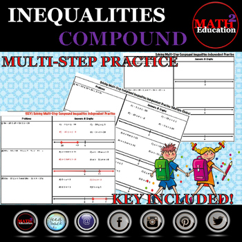 Solving And Graphing Multi Step Compound Inequalities By Math Square