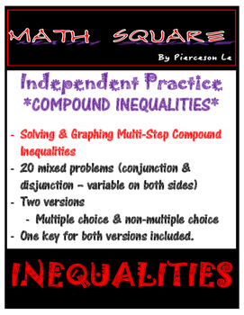 Solving and Graphing Multi-Step Compound Inequalities