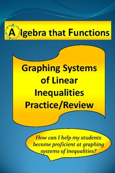 Systems of Linear Inequalities Solving and Graphing Practice