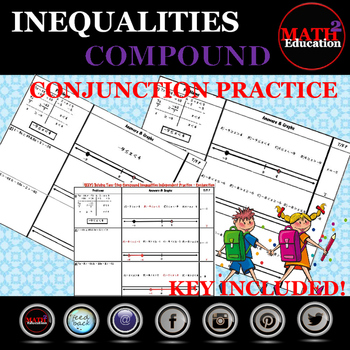 Solving and Graphing Two Step Compound Inequalities - Conjunction