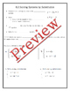 Solving by Elimination Guided Notes, Powerpoint, Homework