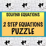 Solving equations (2 step) puzzle