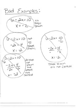 Solving equations Weekly practice
