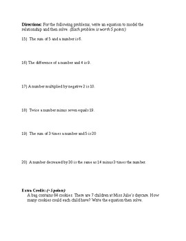 Solving equations in one-variable