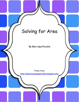 Solving for Area
