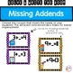 Missing Addends within 10 and 20 Write the Room Math