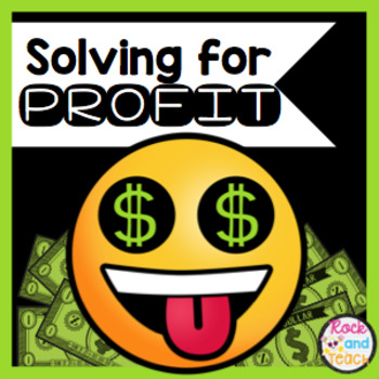 Solving for Profit