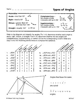 Solving for Unknown Angles (CCSS 7.G.B.5)