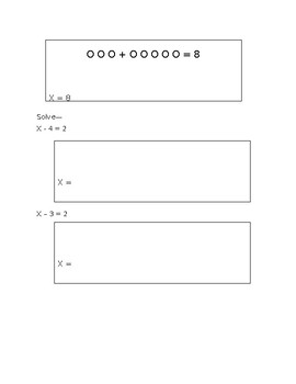 Solving for a Variable Guided Notes