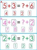 Solving for the Unknown- Clip Cards and Number Tiles