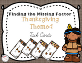Solving for the Unknown Factor - Thanksgiving Themed 3.OA.4
