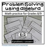 Problem solving with algebra