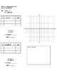 Solving systems of equations graphically WORKSHEET (BELOW-LEVEL)