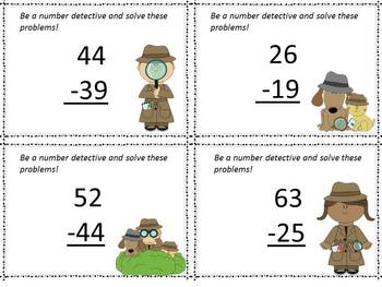 Solving the Clues:  Introducing and Reinforcing Subtraction with Regrouping