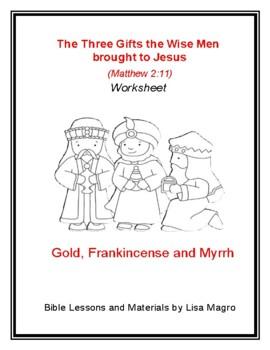 Mini Lesson from Matthew 2:11 (NKJV) w/ TAK Print & Go!