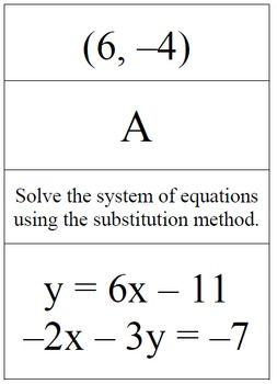Solving using the Substitution and Elimination Methods - Problem Trail