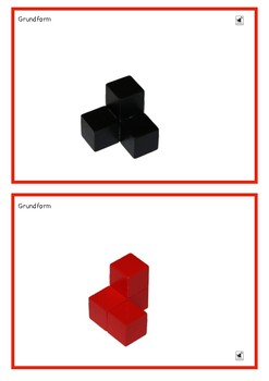 Soma Cube - Flash Cards + Solution