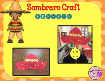 Sombrero Hat Craft FREEBIE