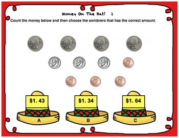 Sombrero Math for 2nd Grade