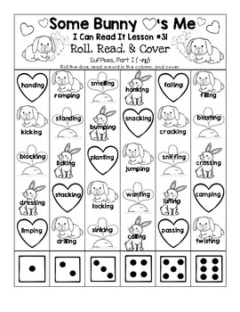 Some Bunny Loves Me - I Can Read It! Roll, Read, and Cover (Lesson 31)