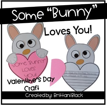 """Some """"Bunny"""" Loves You~ Craft and Writing"""