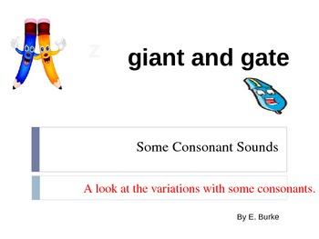 Some Consonant Sounds
